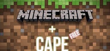 Minecraft Premium Плащ (CAPE)