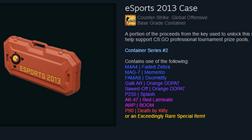 Кейс eSports 2013 (Random оружие) + БОНУС