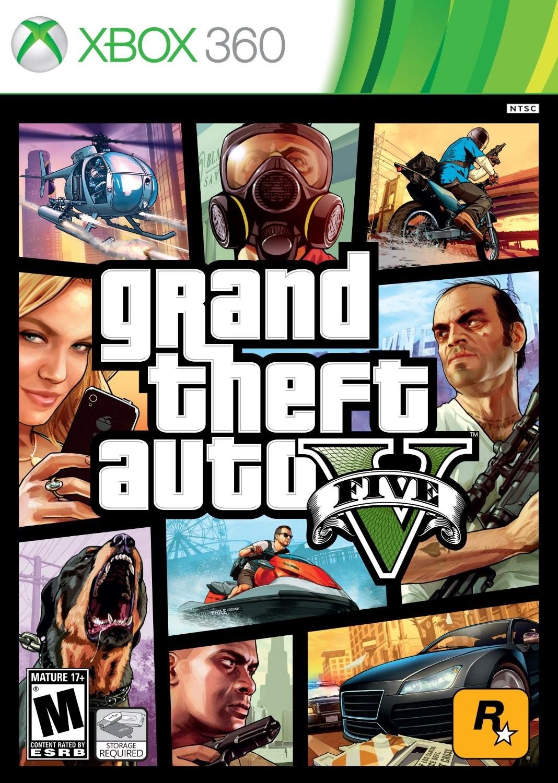 GTA 5+2 игры| Xbox 360 | Общий аккаунт