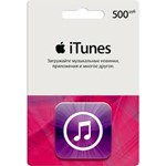 500 руб. iTunes RUS Gift Card - Apple Store