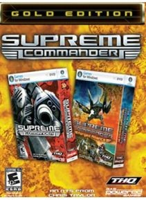 Купить Ключ Supreme Commander Gold Edition [Steam Key ROW]