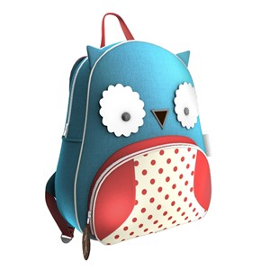 ZOO BackPack Owl  Professional, highly detailed 3Ds Max models for architectural visualizations by 3D Ground.