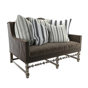 Chaddock Collection European Tour Loveseat Sofa  Professional, highly detailed 3Ds Max models for architectural visualizations by 3D Ground.