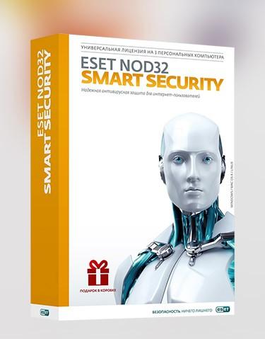 Купить ESET NOD32 Smart Security 3ПК  (2 год 8 мес.)