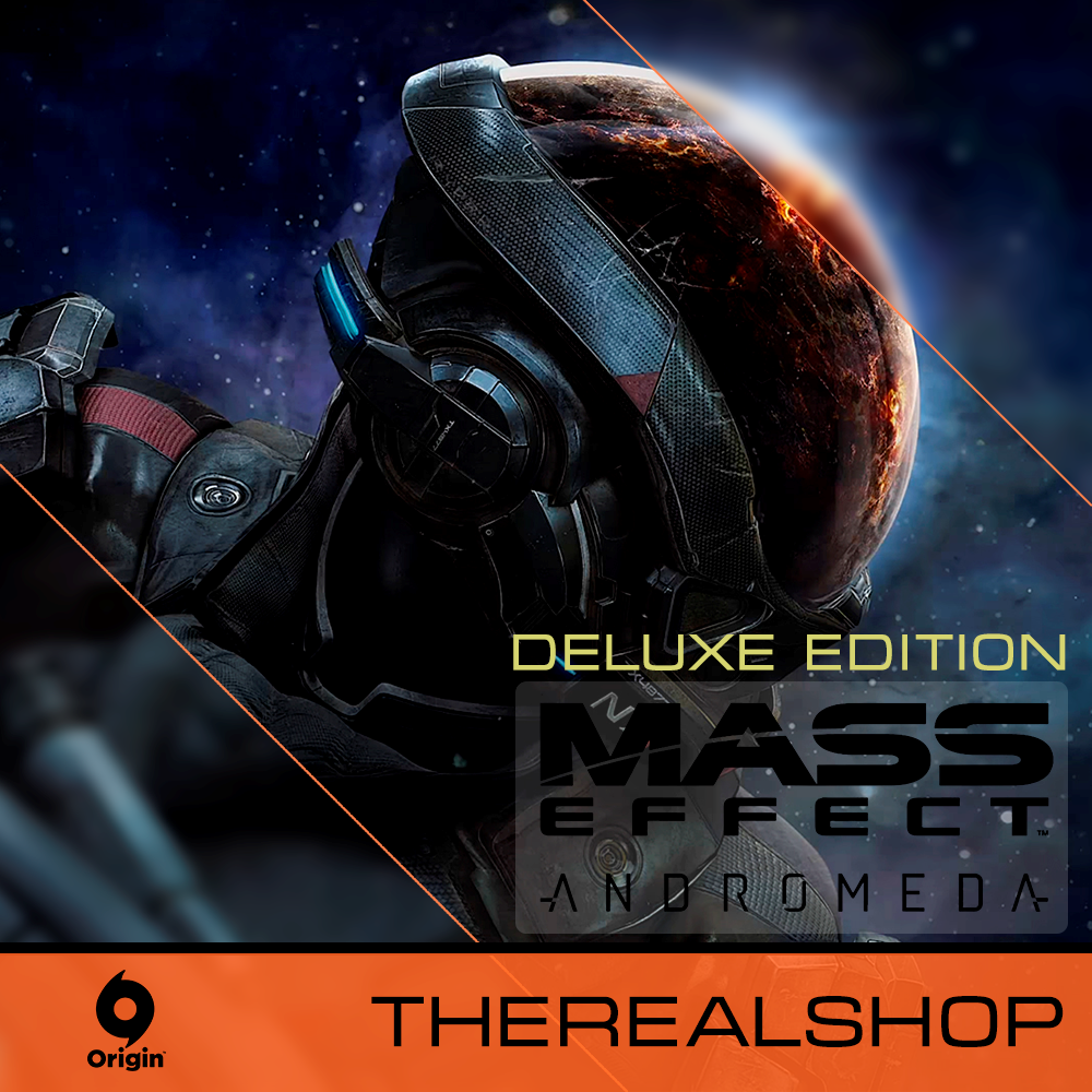 Купить Mass Effect Andromeda Deluxe Edition | ГАРАНТИЯ