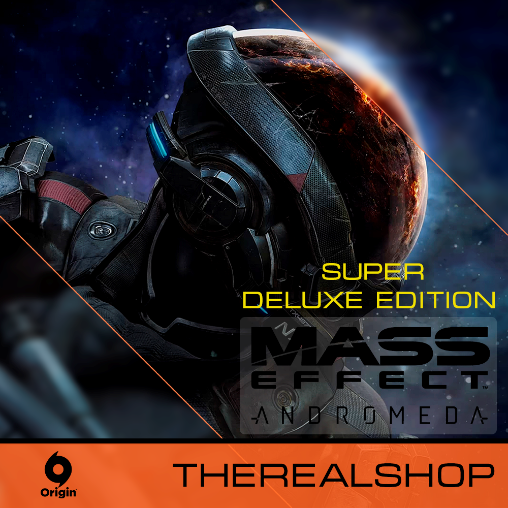 Купить Mass Effect Andromeda Super Deluxe Edition [ГАРАНТИЯ]