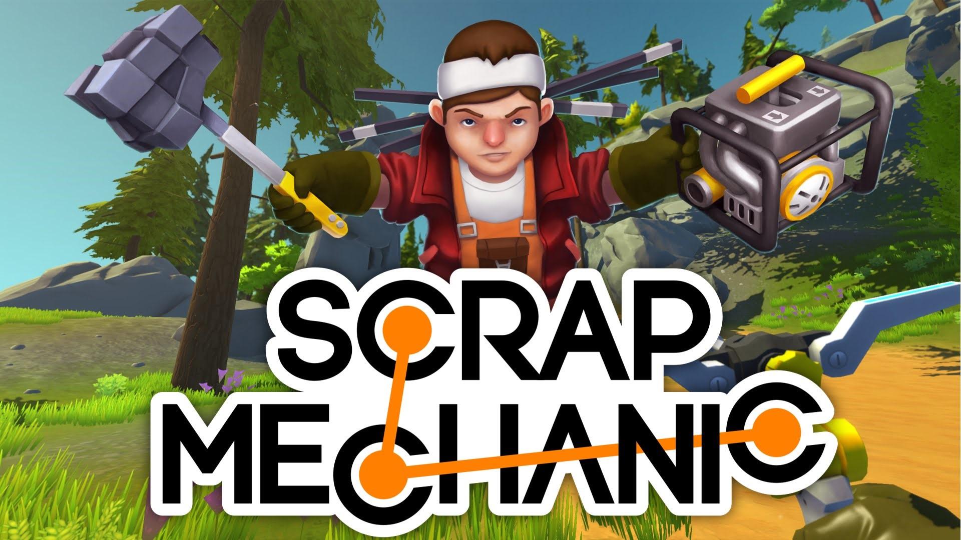 Купить Scrap Mechanic (Steam RU)