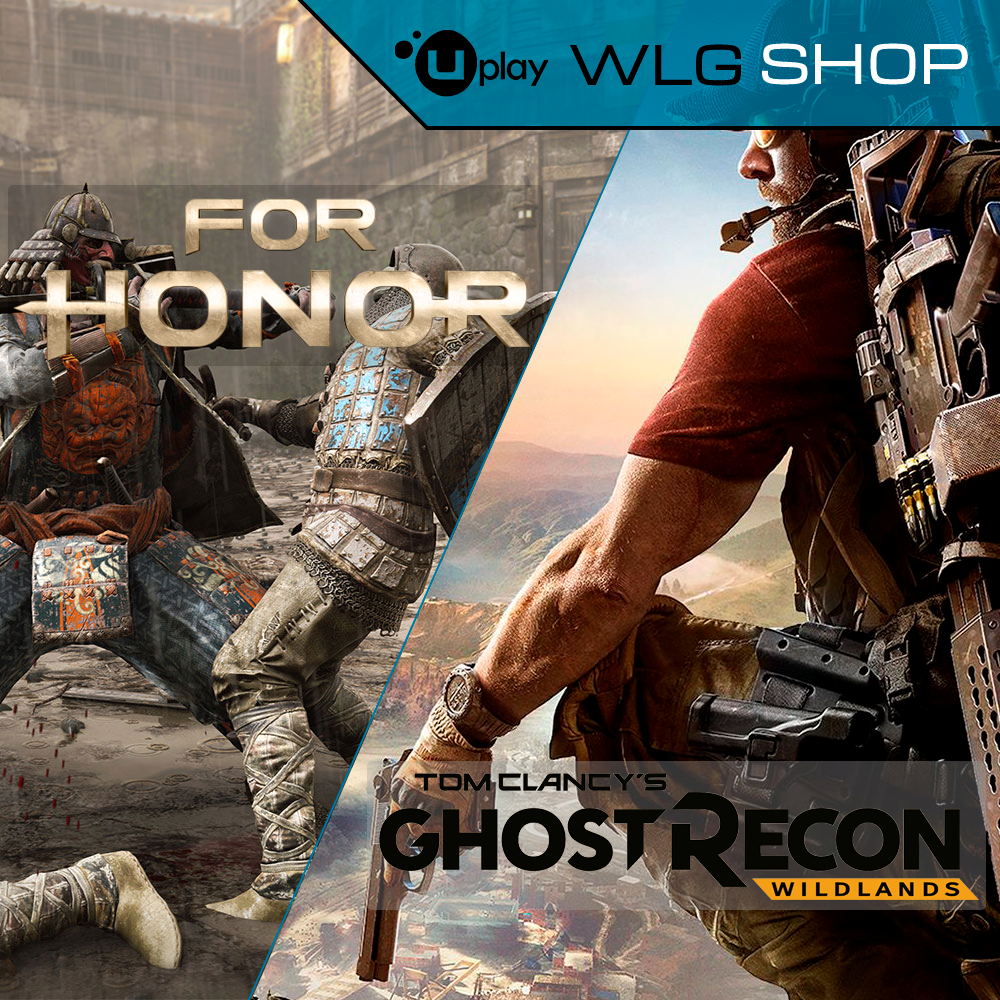 Купить Tom Clancy´s Wildlands+FOR HONOR UPLAY