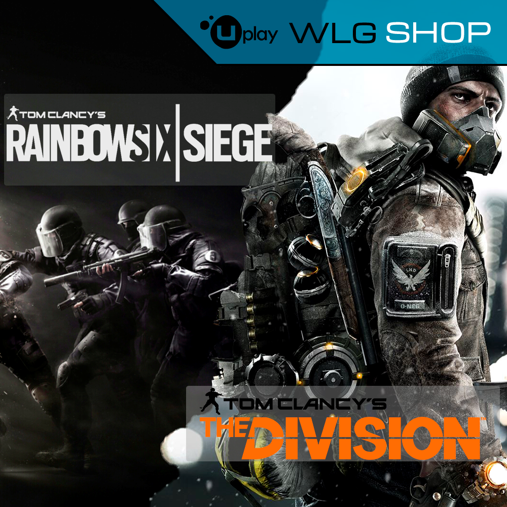 Купить Tom Clancy´s Division+Rainbow Six Siege&#128142