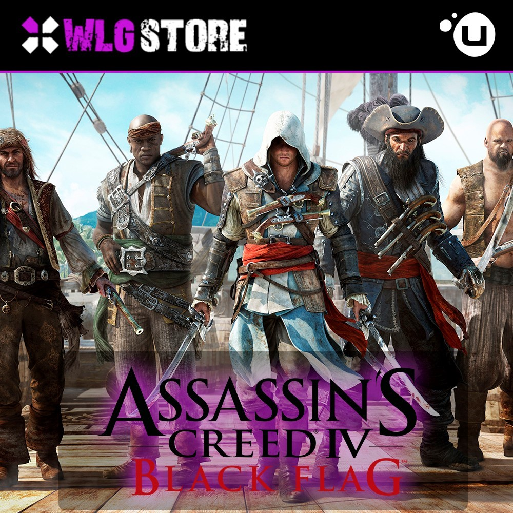 Купить Assassin's Creed BLACK FLAG [Гарантия] UPLAY