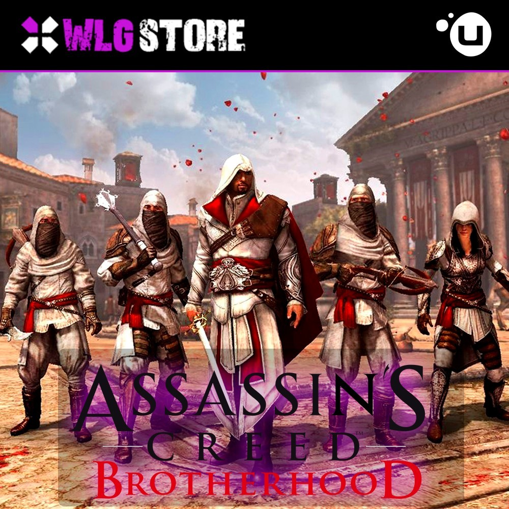 Купить Assassin's Creed Brotherhood [Гарантия] UPLAY