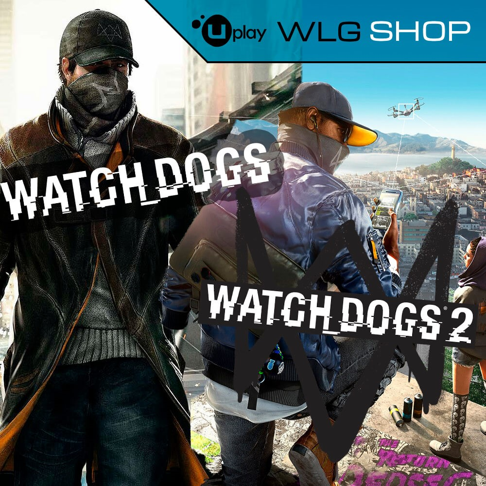 Купить WATCH DOGS + WATCH DOGS 2 UPLAY