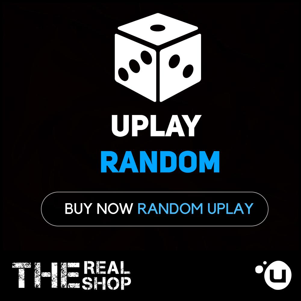 Купить RANDOM Uplay Account   СЛУЧАЙНЫЙ АККАУНТ   Region FREE