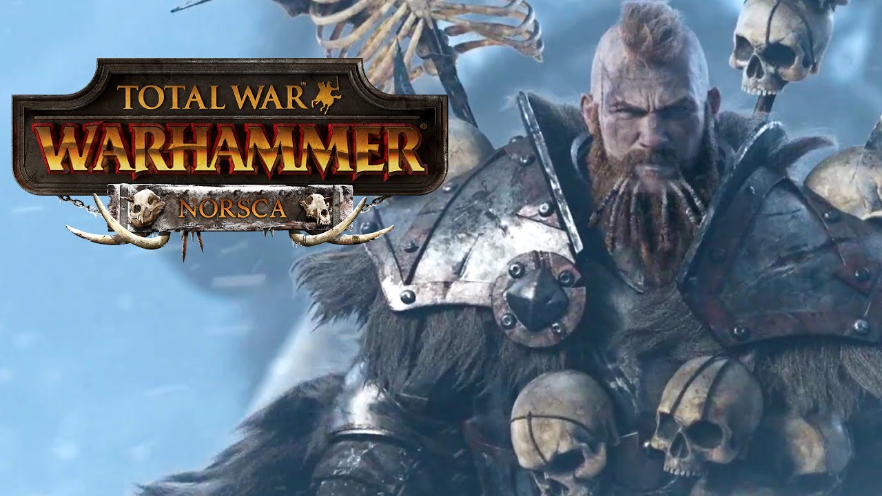 Купить Total War: WARHAMMER - Norsca !Сразу! (Steam DLC)
