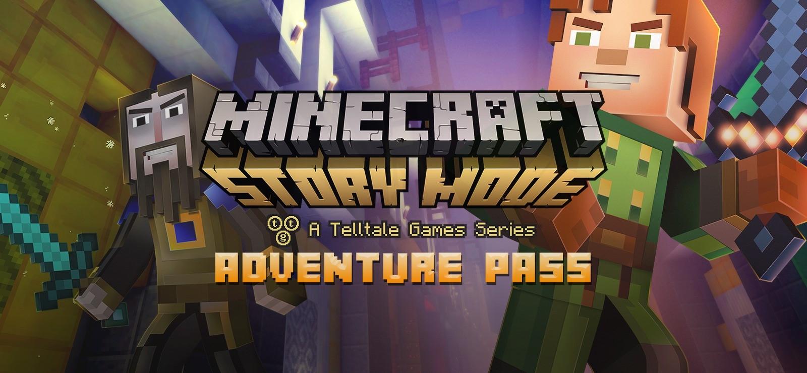 Купить Minecraft: Story Mode - Adventure Pass !Сразу! (Steam)