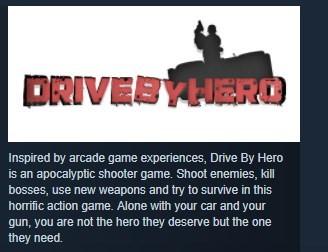 Drive-By Hero STEAM KEY REGION FREE GLOBAL