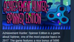 Achievement Hunter Spinner Edition Extreme STEAM GLOBAL