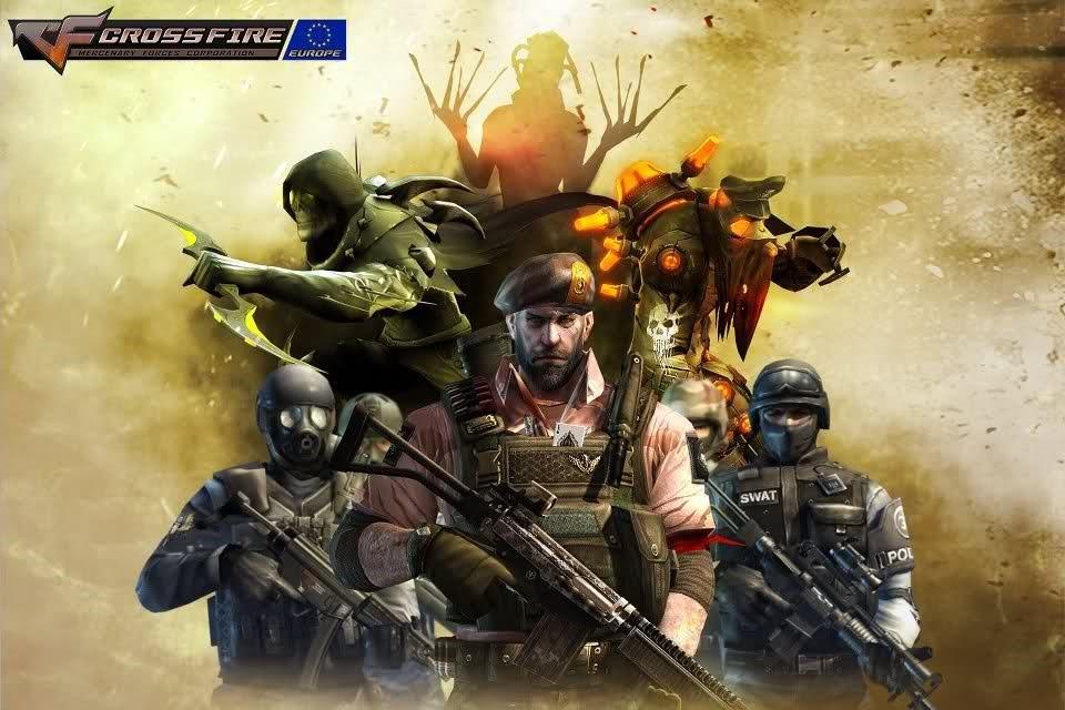 CrossFire от Лейтенанта Random на VIP оружия