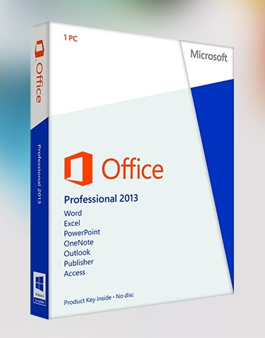 Office 2013 Pro Plus 1 PC