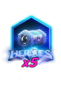 Heroes of the Storm - 5 контейнеров PRIME