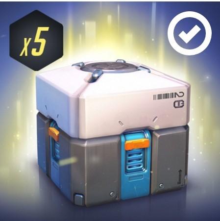 Overwatch Loot Box x5 Ключ Twitch Prime ( ОКТЯБРЬ )
