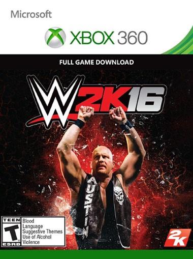 Купить WWE 2K16 XBOX 360