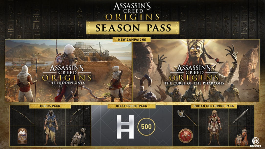 Купить Assassin's Creed® Origins Season Pass + Подарок