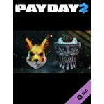 PAYDAY 2: Electarodent and Titan Masks DLC (Steam)