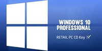 КЛЮЧ Windows 10 Professional 32/64 bit – 1 PC