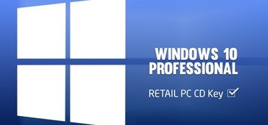 Windows 10 Professional 32/64 bit — 1 PC