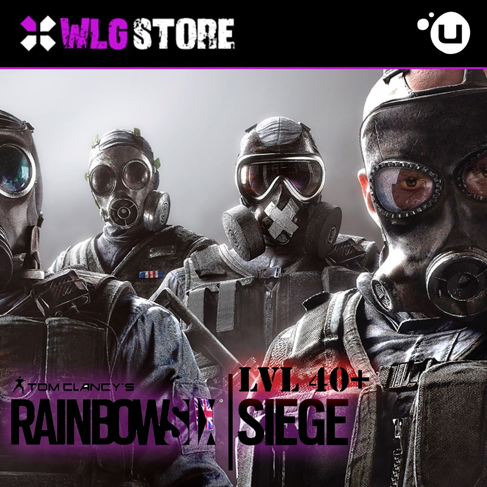 Купить Tom Clancy´s Rainbow Six Siege [LVL 40+] Uplay &#128142