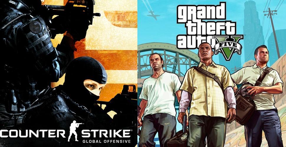 Counter-Strike:Global Offensive + GTA V [Steam аккаунт]