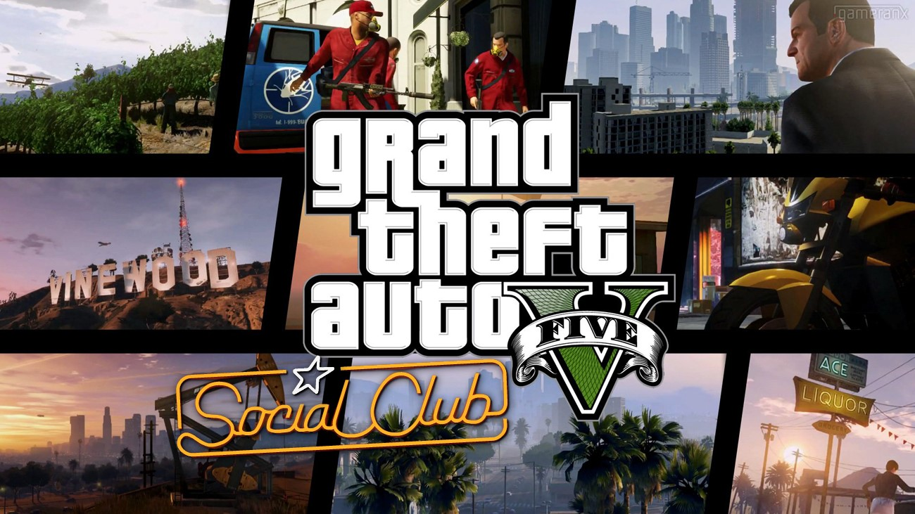 GTA 5 Social Club (200+ LVL + 1-10.000.000$ CASH)
