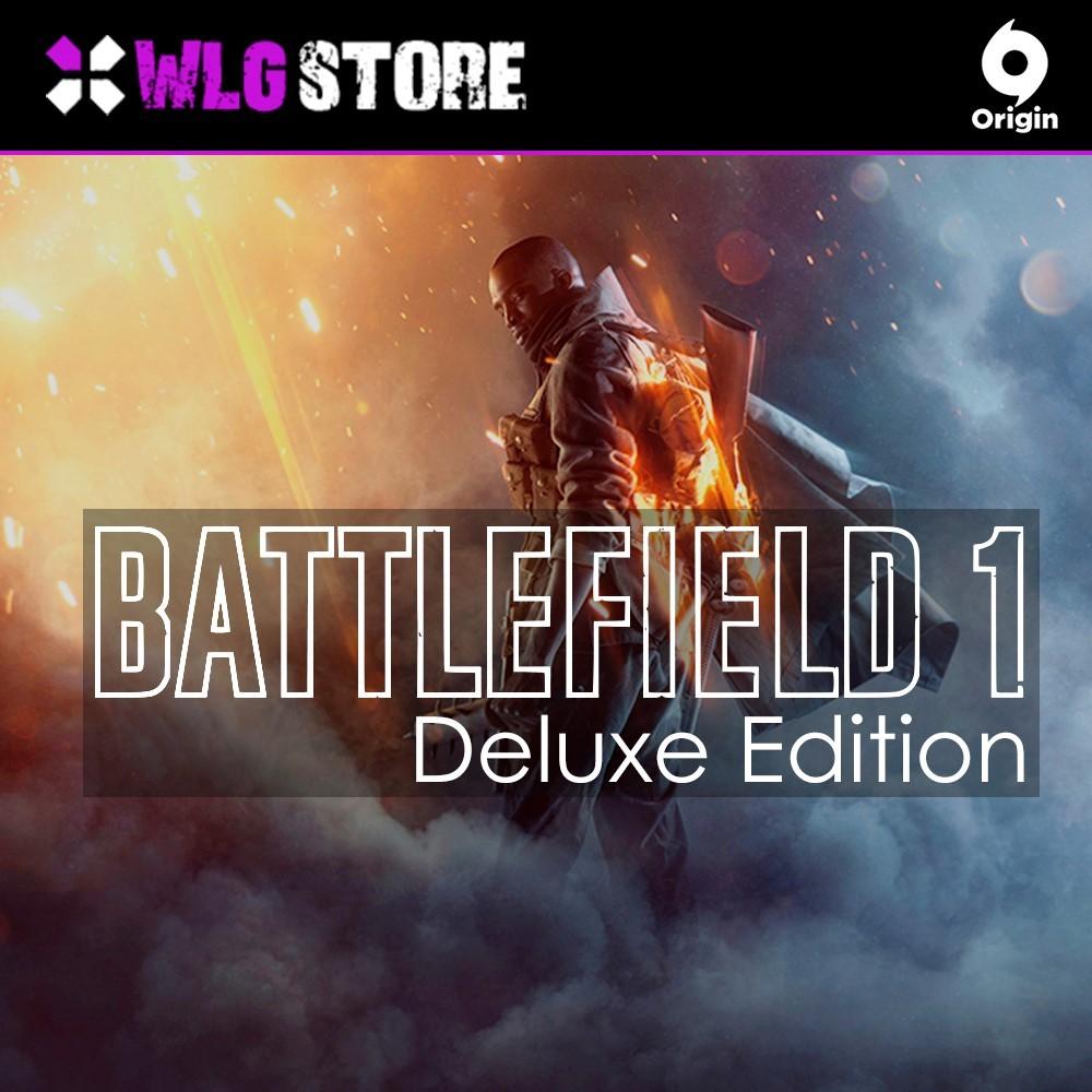 Купить Battlefild 1 Deluxe Edition | Гарантия | Origin