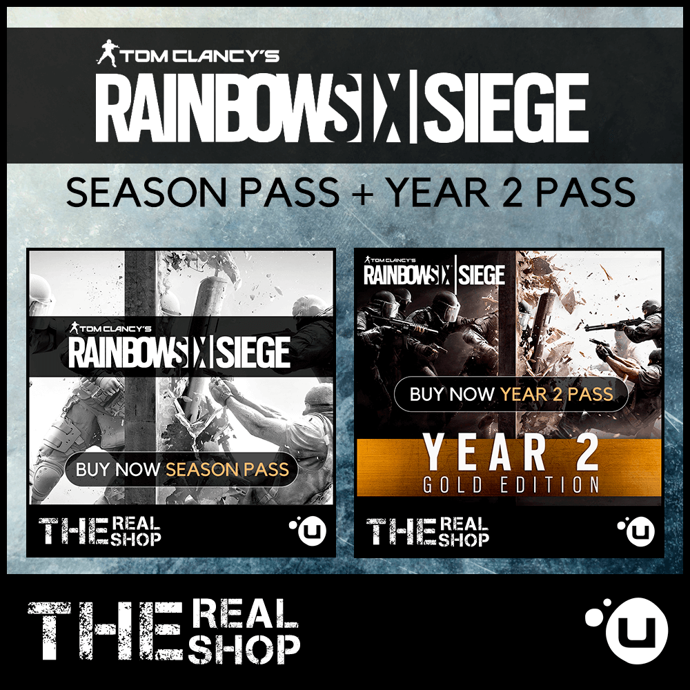Купить RAINBOW SIX SIEGE SEASON PASS + 2 YEAR | EXCLUSIV&#9989
