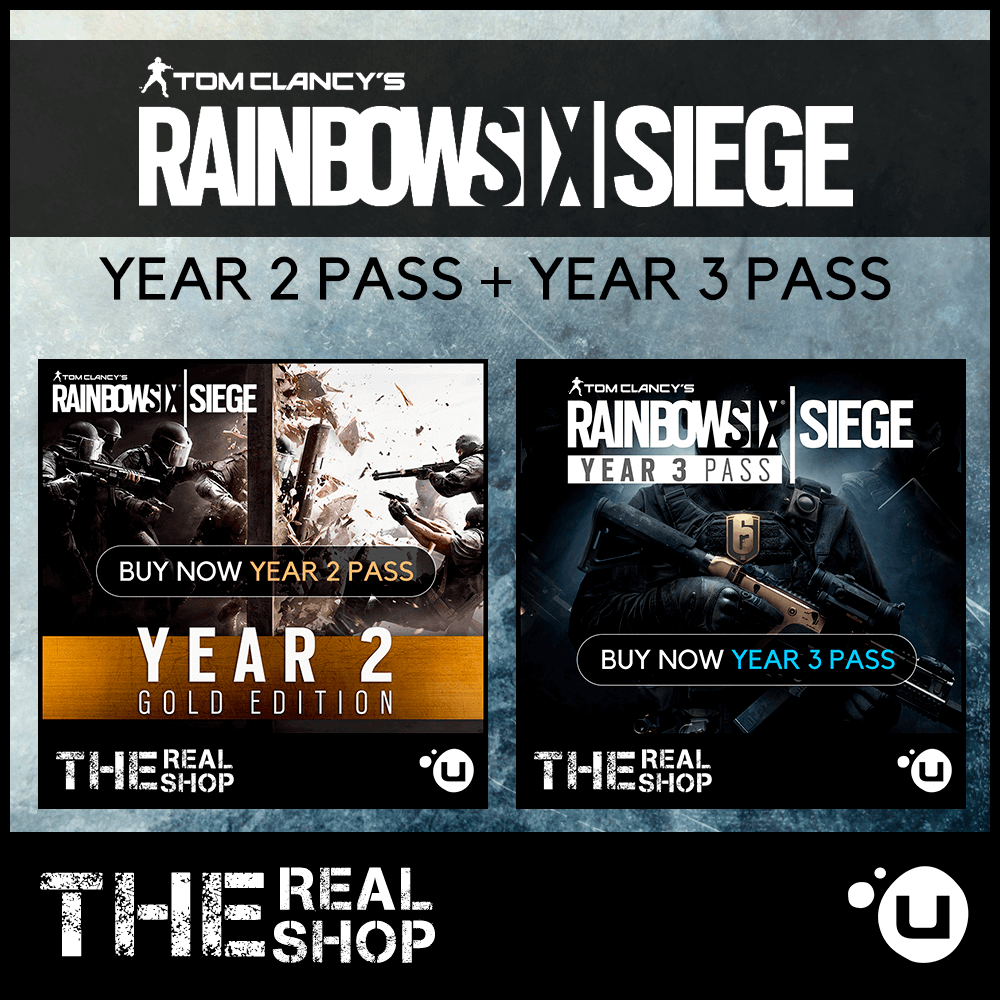 Купить RAINBOW SIX SIEGE YEAR PASS 2 3 | EXCLUSIVE &#9989