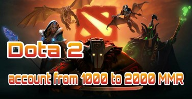 Купить аккаунт Аккаунт DOTA 2 | MMR от 1000 до 2000 рейтинга на SteamNinja.ru