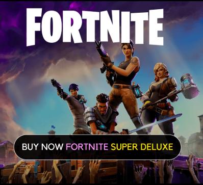 Купить FORTNITE SUPER DELUXE