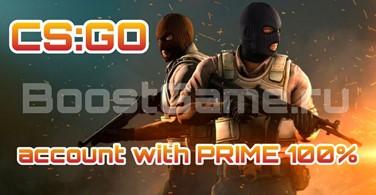Купить аккаунт CS:GO [PRIME] 🔥 со Званием + Медаль от 1-4 ✅ на SteamNinja.ru