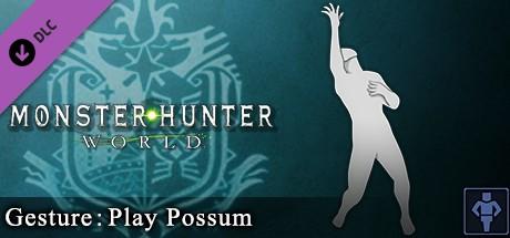 Купить Monster Hunter: World - Gesture: Play Possum