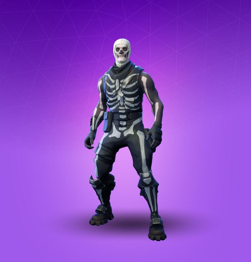 Купить Fortnite   Эпическое снаряжение   Skull Trooper