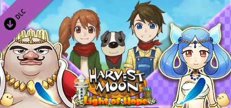 Купить Harvest Moon: Light of Hope - Divine Marriageable Characters Pack