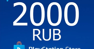 Купить лицензионный ключ ★ 2000 руб | Карта оплаты PlayStation Network RU PSN RU на SteamNinja.ru