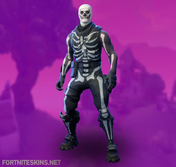 Fortnite Эпическое снаряжение Skull Trooper