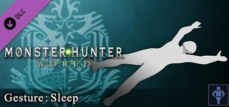 Купить Monster Hunter: World - Gesture: Sleep