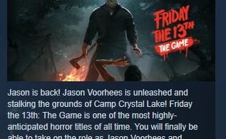 Купить лицензионный ключ Friday the 13th: The Game STEAM KEY REGION FREE💎 на SteamNinja.ru