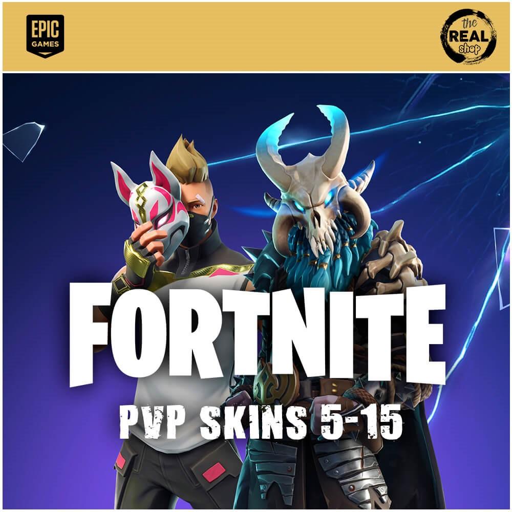 Купить FORTNITE 5-15 PVP SKINS   EPICGAMES &#9989