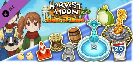 Купить Harvest Moon: Light of Hope - Decorations & Tool Upgrade Pack