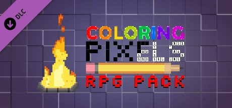 Купить Coloring Pixels - RPG Pack