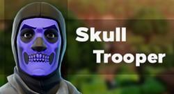 Fortnite аккаунт с Skull Trooper скином